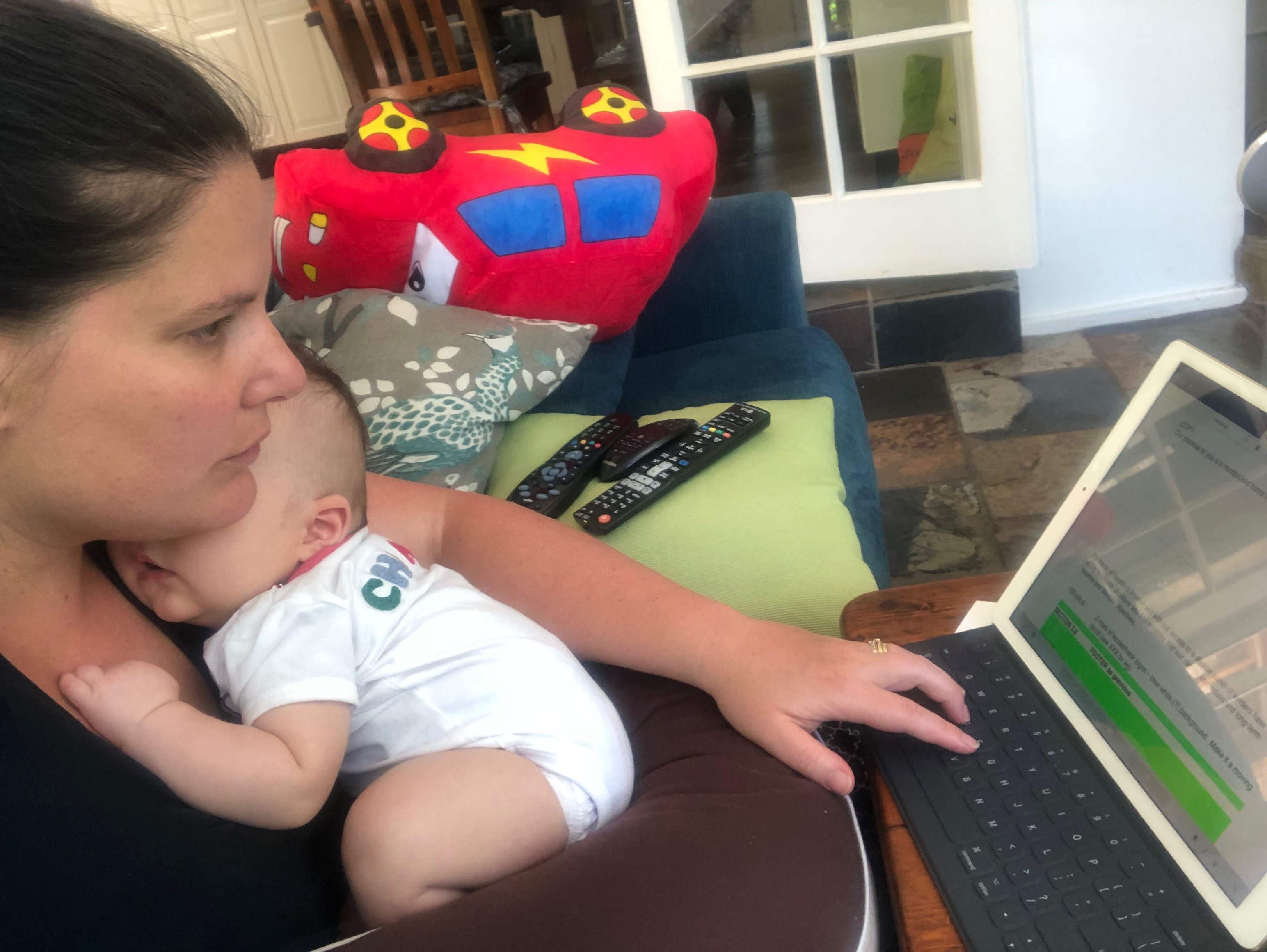 Babies and business – Keeping it Peachy